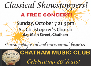 Chatham Music Club | Cape Cod Classical Musical Performances